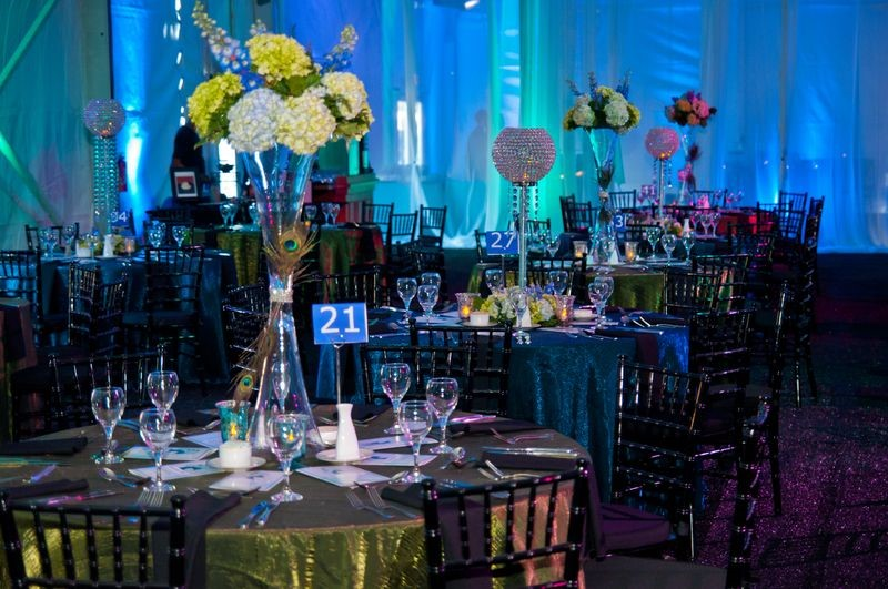 Gala Celebration Centerpieces