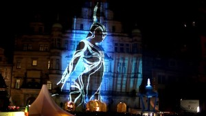 Projection Mapping at Event