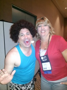 Quick Pic with Richard Simmons