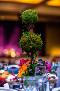 Topiary Centerpiece Close Up