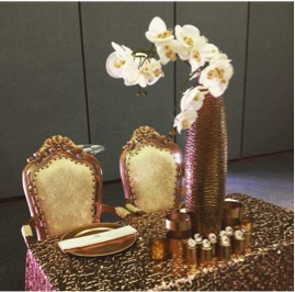 the special event - metal decor ideas