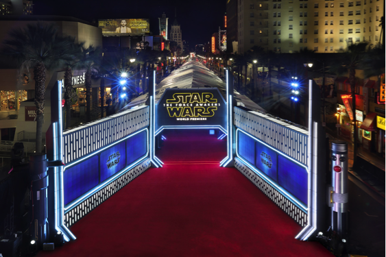 Star Wars Corporate Event Design Inspiration Exhilarate
