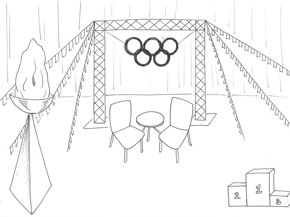 Olympic Stage Set